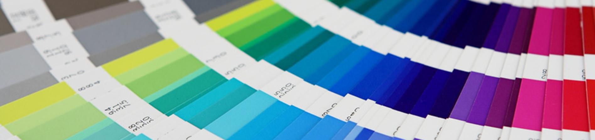 Grafikdesign Bielefeld Farbfächer
