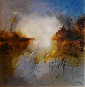 """""""Hoffnung"""", Acryl auf Leinwand, 40 x 40 cm"""
